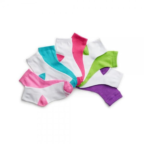 Hanes Girls' Ankle EZ Sort® Socks Assorted 10-Pack