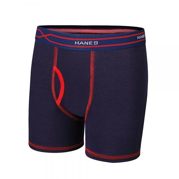 Hanes X-Temp® Boys' Boxer Brief with Comfort Flex® Waistband 4-Pack - New Style Assorted