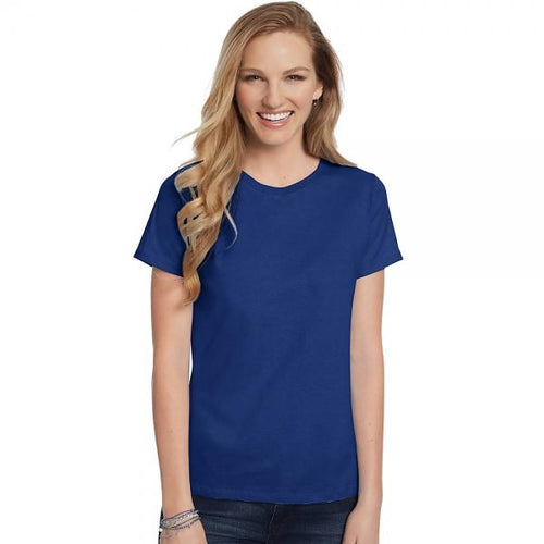 Hanes Women's Relaxed Fit Jersey ComfortSoft® Crewneck T-Shirt
