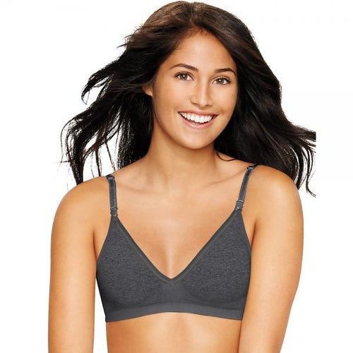 Hanes Ultimate Comfy Support ComfortFlex Fitᆴ Wirefree Bra