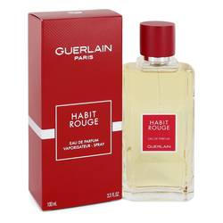 FRAGRANCE Habit Rouge Cologne 3.3 oz Eau De Parfum Spray