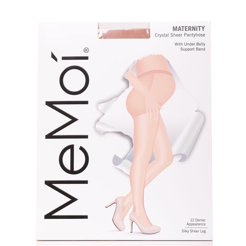 MeMoi 12 Maternity Sheer Pantyhose