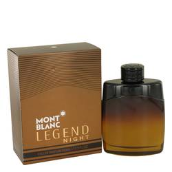 FRAGRANCE Montblanc Legend Night Cologne By MONT BLANC FOR MEN 3.3 oz Eau De Parfum Spray