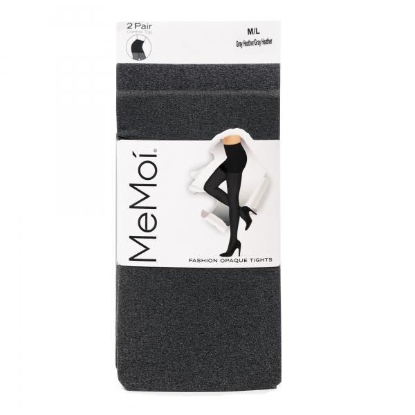 Memoi Womens Heather Tight 2 Per Pack