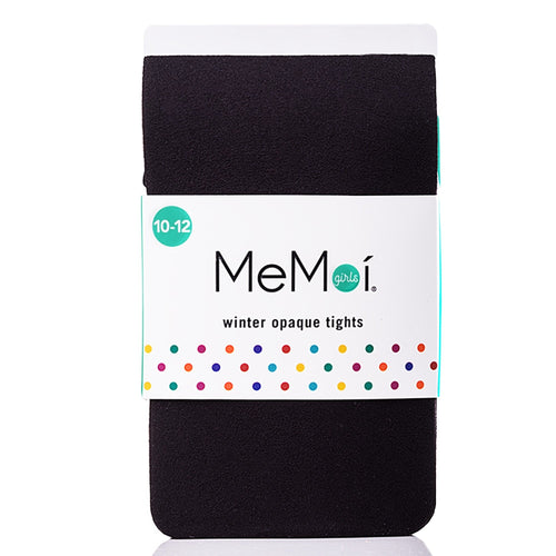 Memoi 60 Opaque Teen Tights Black