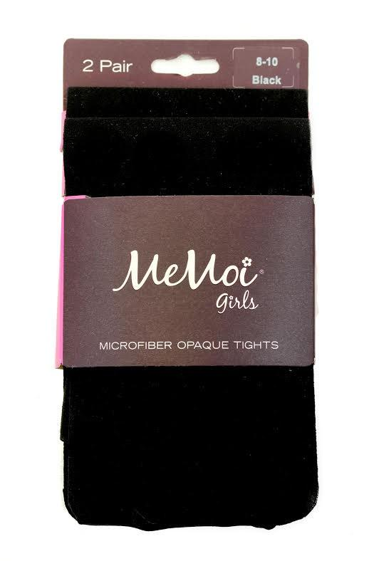 Memoi 40 Opaque Kids Tight 2 Pack ~6