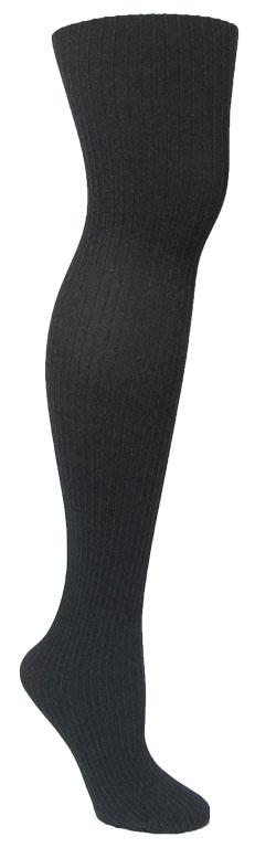 Memoi Heather Pinstripe Black
