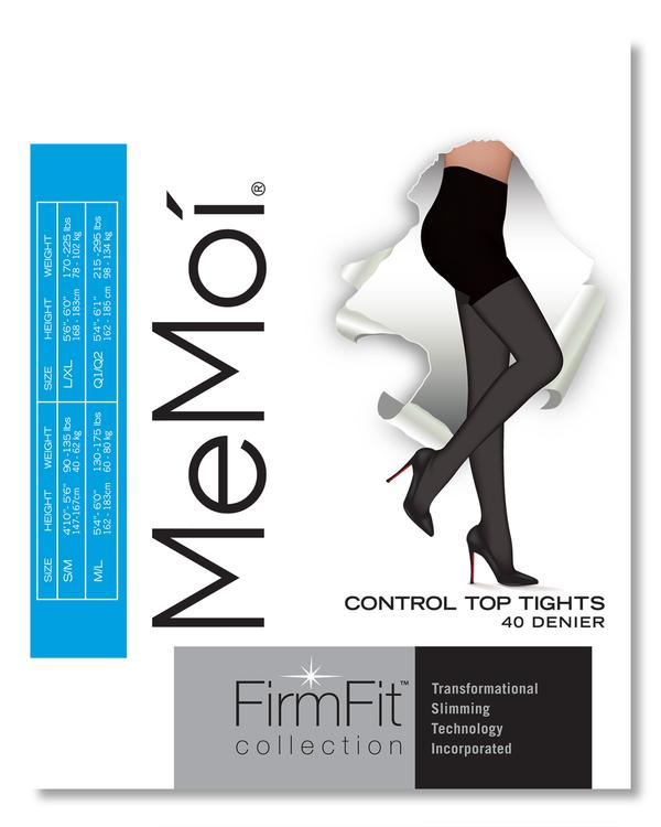 Memoi Firm Fit Opaque Tight 40