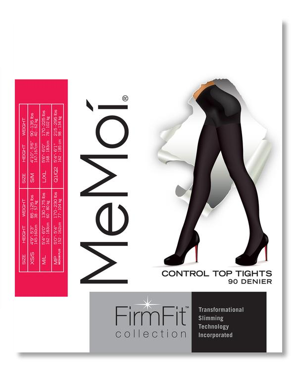 Memoi Firm Fit Opaque Tight 90