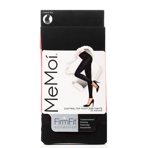 Memoi Firm Fit Opaque Footless Tight 90