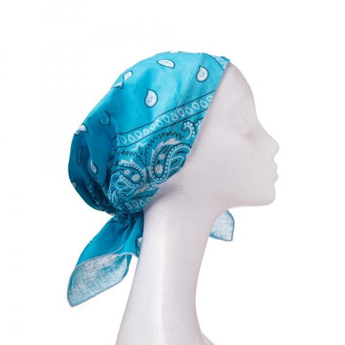 Its Unique Pre Tied Bandana With Slip Not