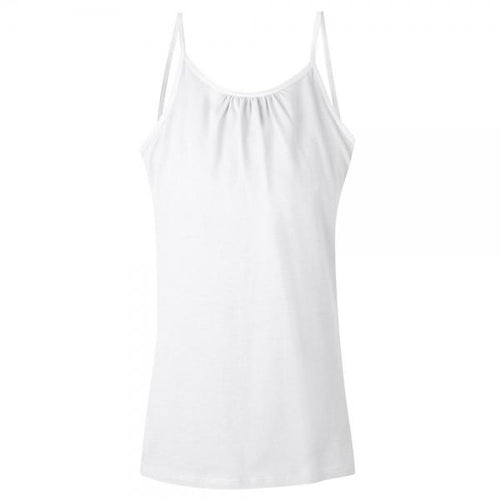 Hanes Girls' Cami with Shelf Bra