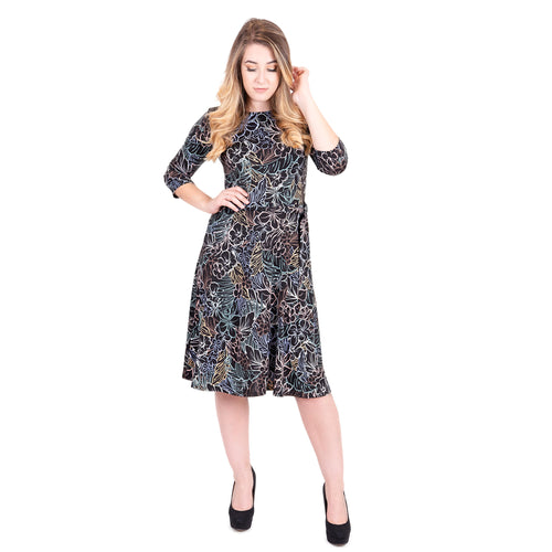 Ontario Rain/Flower Women's Dress