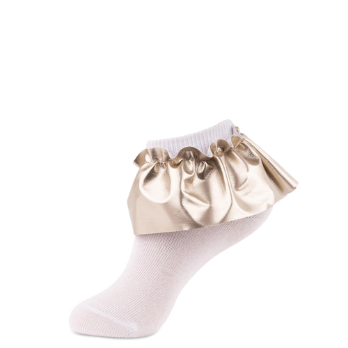 JRP Leatherette Anklet Girl's Socks