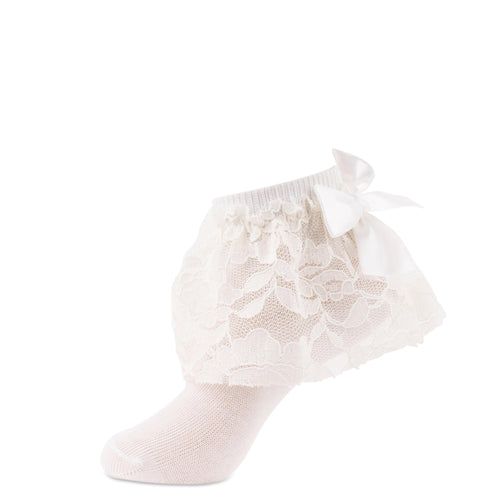 JRP Floral Lace Anklet Girl's Socks