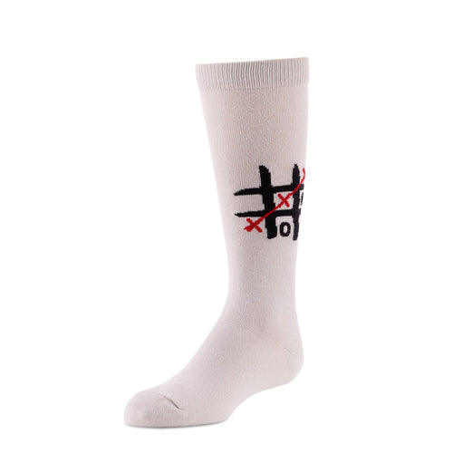 JRP Tic Toc Toe Girl's Knee Socks