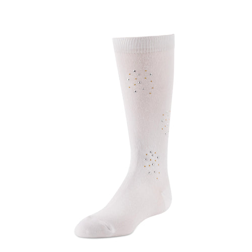 JRP Rhinestud Girl's Knee Socks