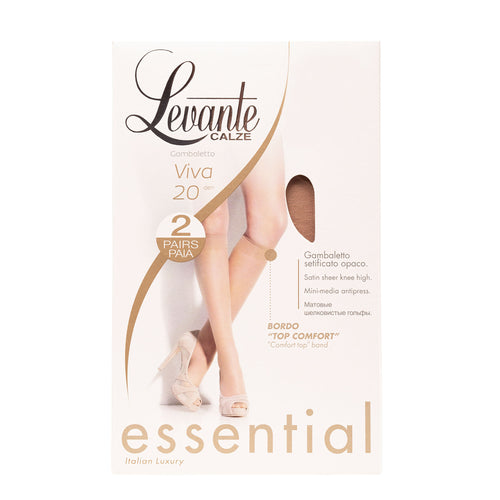 Levante 20 Viva Knee High 2 Pack