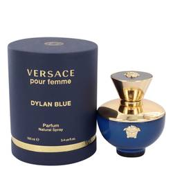 FRAGRANCE Versace Pour Femme Dylan Blue Perfume FOR WOMEN 3.4 oz Eau De Parfum Spray