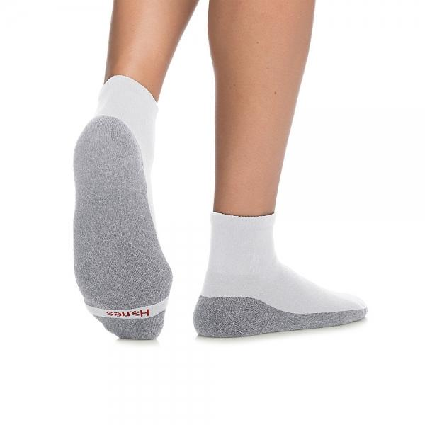 Hanes Men's ComfortBlend® Max Cushion Ankle Sock 6-Pack