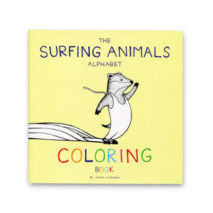 The Surfing Animals ABC Coloring Book