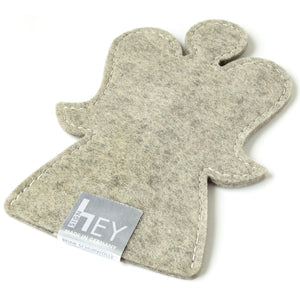 Decorative Angel in Light Grey by Hey-Sign 301151507 from Side