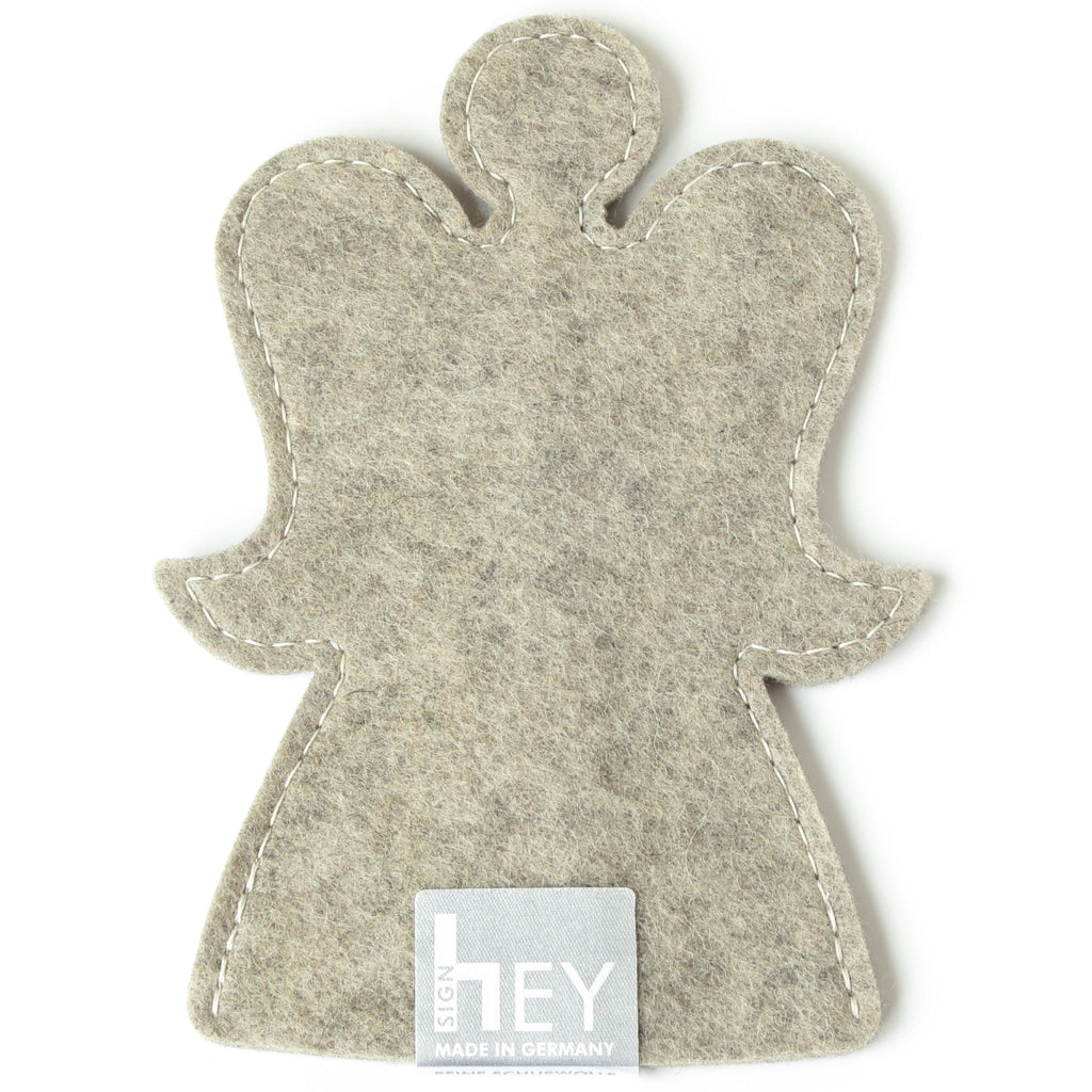 Decorative Angel in Light Grey by Hey-Sign 301151507 from Top