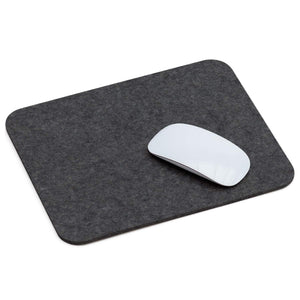 Rectangular Felt Mousepad in Graphite by Hey-Sign 305302308 looking at Front-Angle