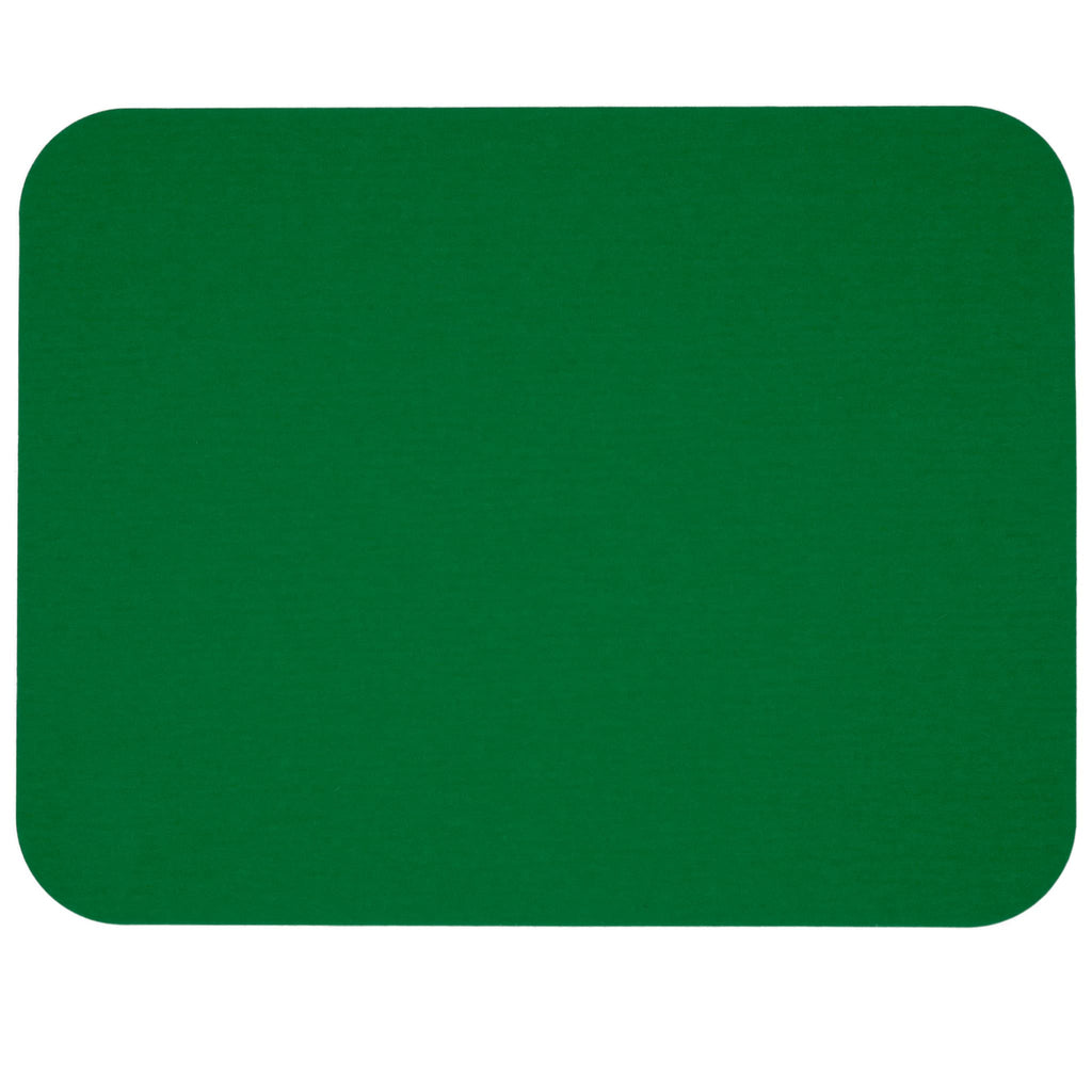 Rectangular Felt Placemat in Dark-Green by Hey-Sign 300134502 looking at Front-Wide