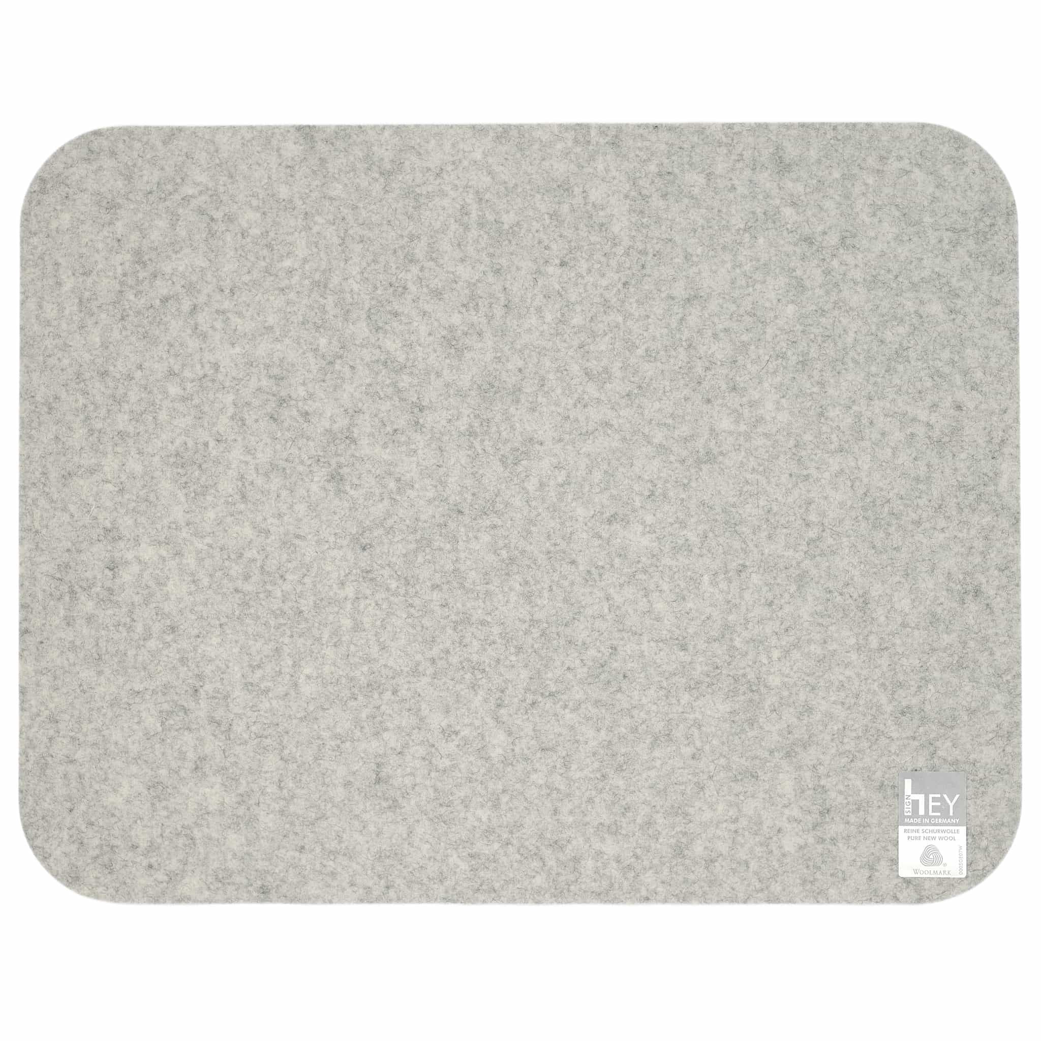 Rectangular Felt Placemat in Marble by Hey-Sign 300134506 looking at Back