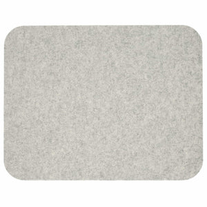 Rectangular Felt Placemat in Marble by Hey-Sign 300134506 looking at Front-Wide