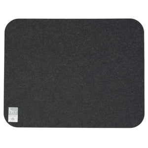 Rectangular Felt Placemat in Graphite by Hey-Sign 300134508 looking at Back