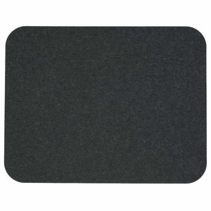 Rectangular Felt Placemat in Graphite by Hey-Sign 300134508 looking at Front