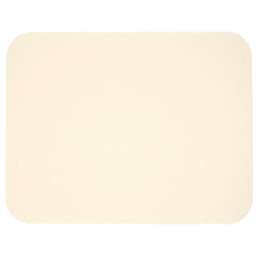Rectangular Felt Placemat in White by Hey-Sign 300134503 looking at Front-Wide