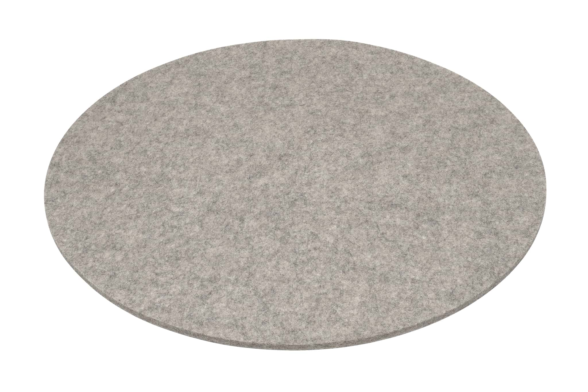 Rectangular Felt Placemat in Light-Grey by Hey-Sign 300134507 looking at Front-Angle