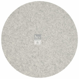 Round Felt Placemat in Marble by Hey-Sign 300153506 looking at Back