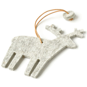 Decorative Reindeer in Marble by Hey-Sign 300601006 from Side