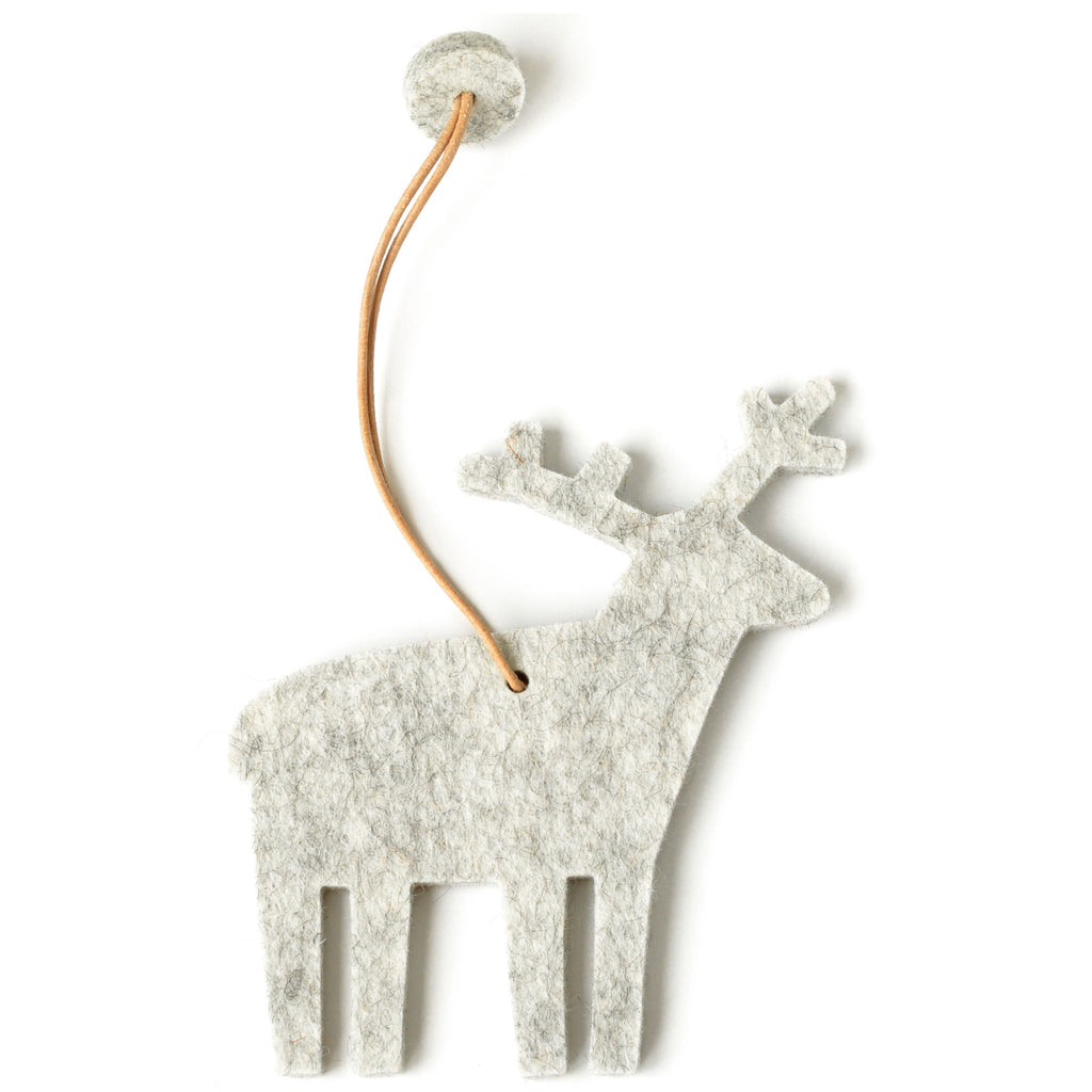 Decorative Reindeer in Marble by Hey-Sign 300601006 from Top