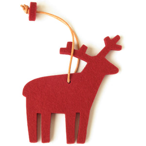 Decorative Reindeer in Red by Hey-Sign 300601011 from Top