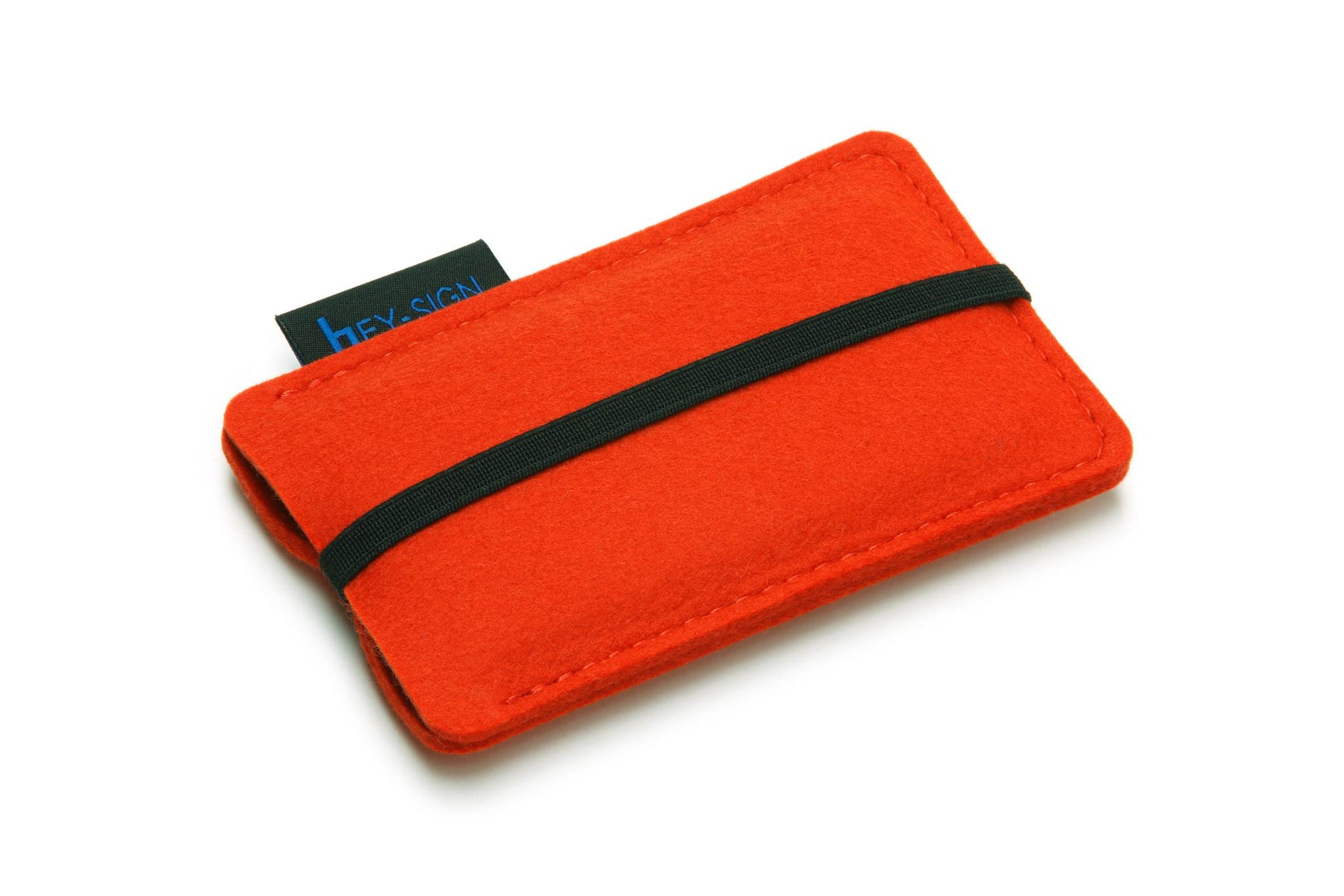 Felt Smartphone Sleeve or Pouch in Mango by Hey-Sign 301031420