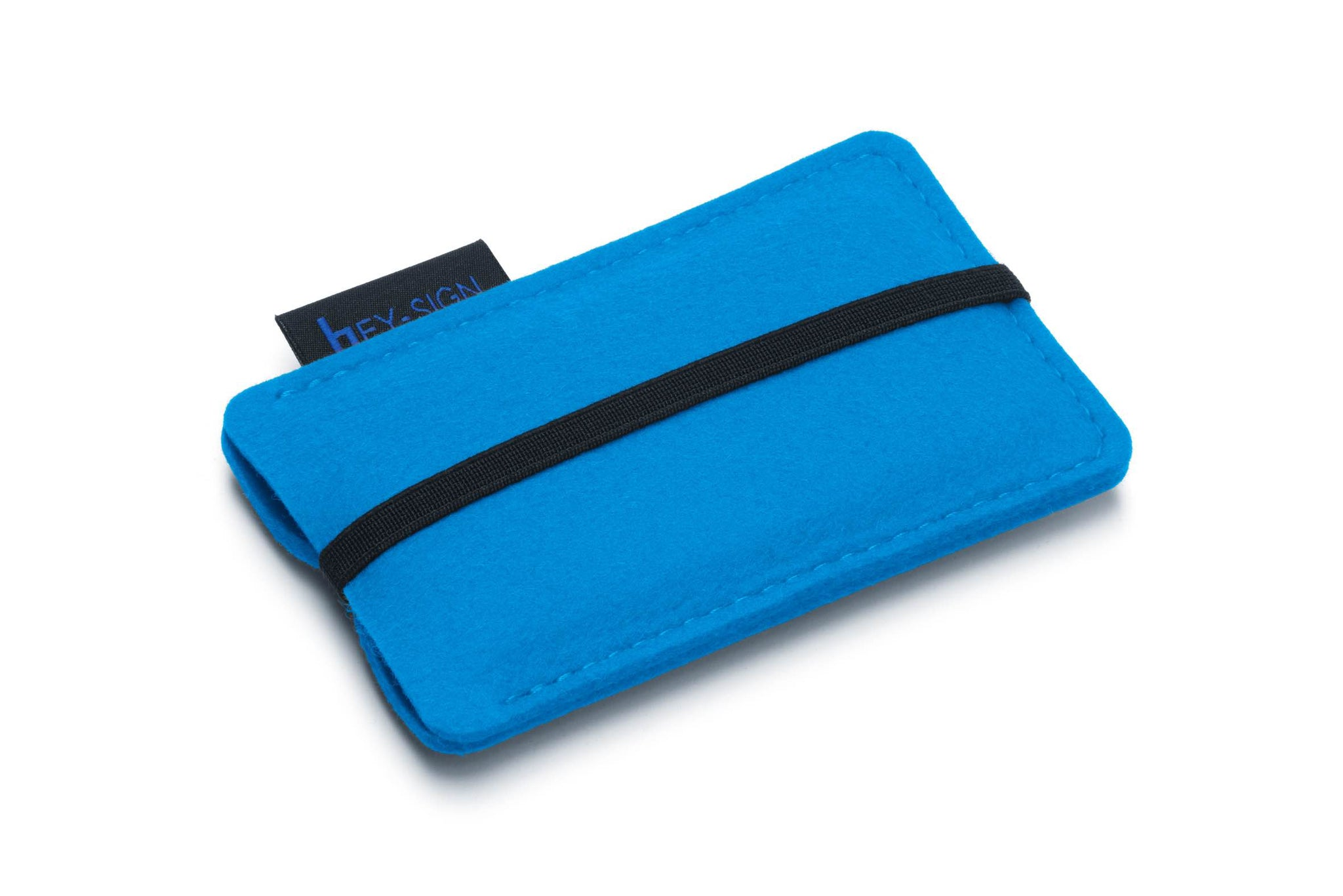 Felt Smartphone Sleeve or Pouch in Petrol-Blue by Hey-Sign 301031434