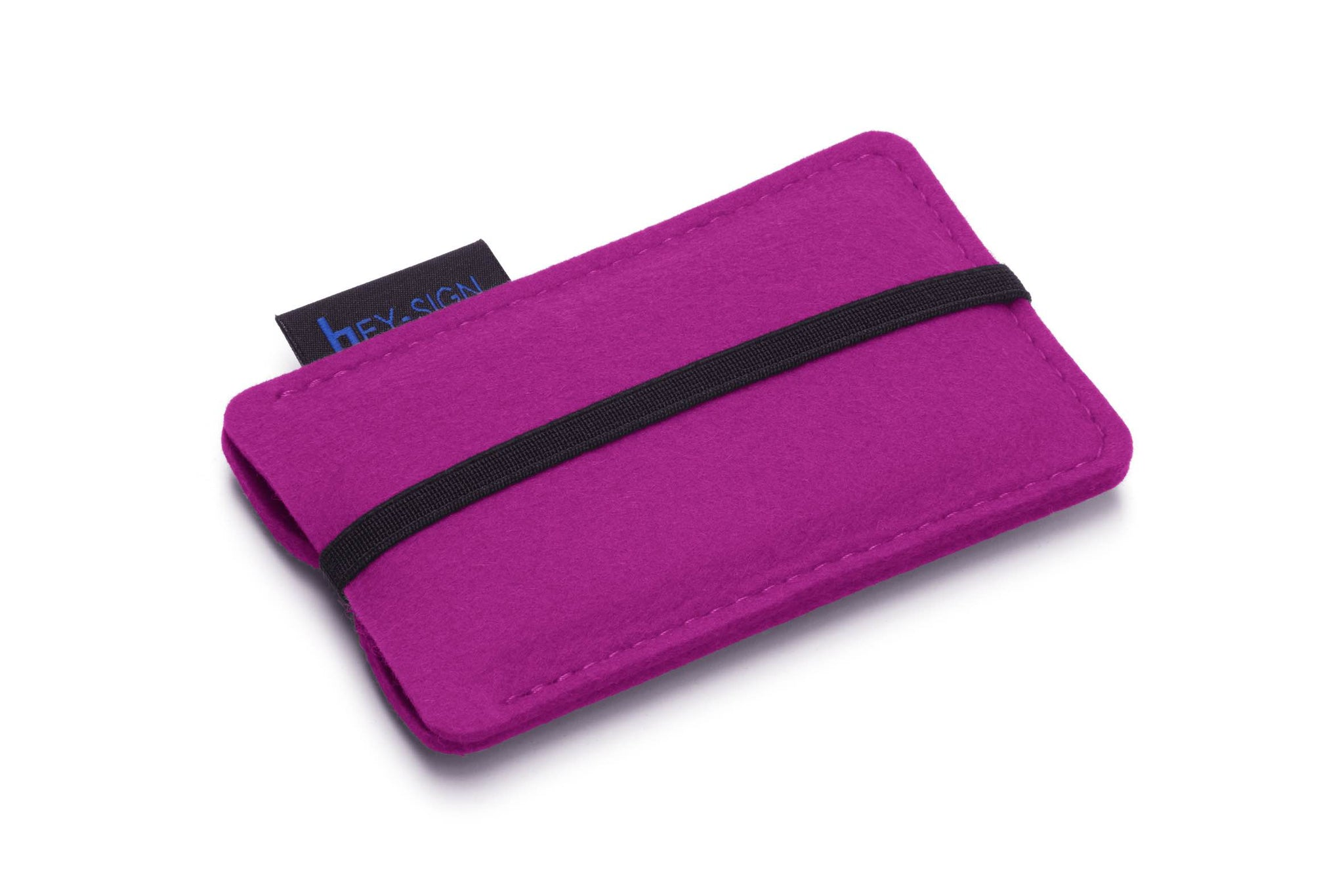 Felt Smartphone Sleeve or Pouch in Pink by Hey-Sign 301031432