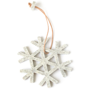 Decorative Snowflake in Marble by Hey-Sign 300590906 from Top