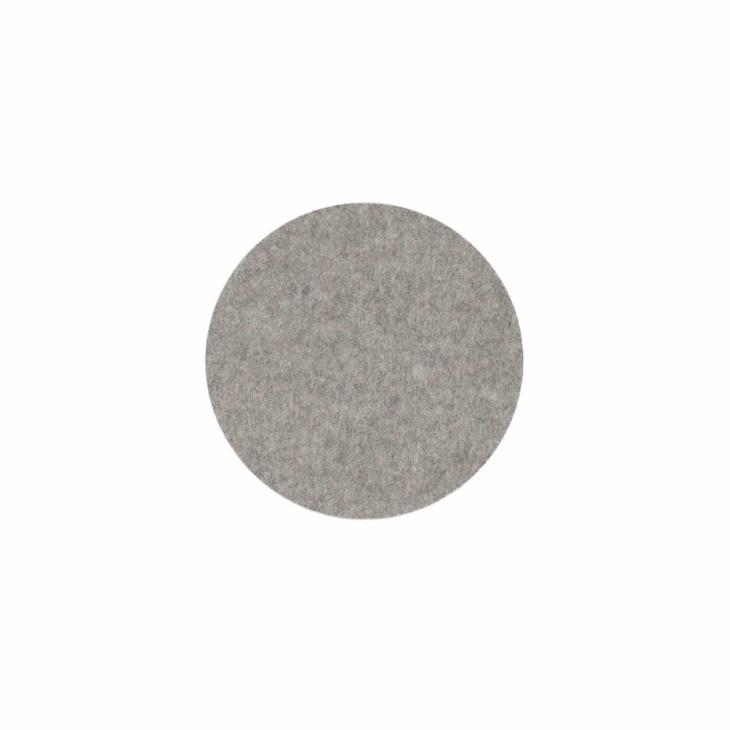 Felt Trivet | Round 16cm - 20cm | Light Grey