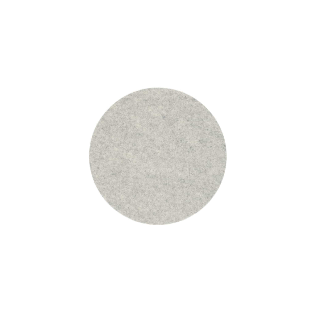 Round Felt Trivet in Marble by Hey-Sign 300152006 looking at Front-Wide
