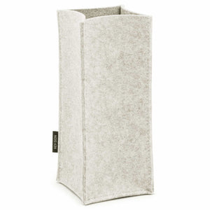 Felt Bottle Cooler in Marble by Hey-Sign 320142506 looking at Front-Angle-Wide