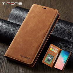 Leather Flip A50 A60 A70 A40 A30 A20 A10 A80 A90 Case For Samsung S9 S8 S7 Edge S10 J4 J6 Plus A7 A8 2018 Note 9 10 Magnet Cover