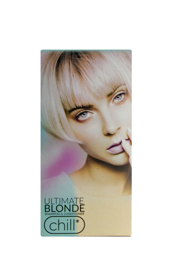 Chill Ed Ultimate Blonde Moisturising Shampoo & Conditioner Pack