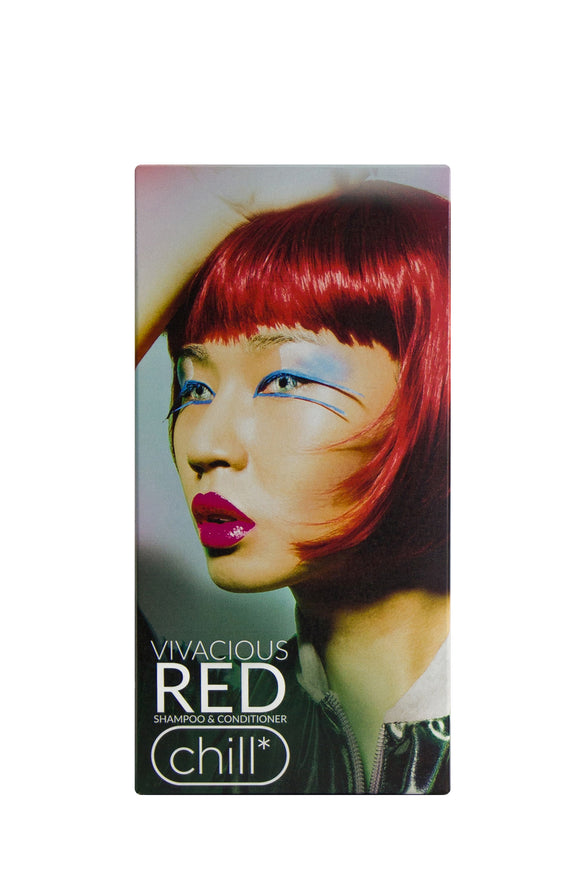Chill Ed Vivacious Moisturising Red Shampoo & Conditioner Pack