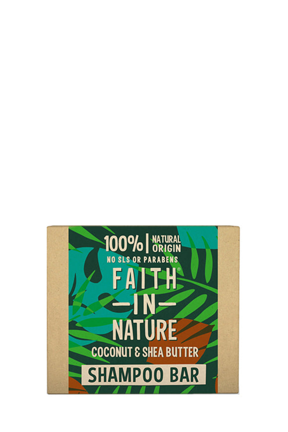 Faith in Nature Coconut & Shea Shampoo Bar 85g